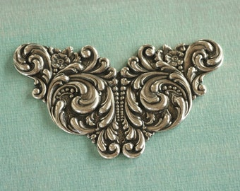 Silver Ornate Finding 2286