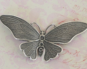 Large Silver Butterfly Finding 2597