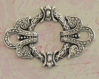 Ornate Silver Frame 2584