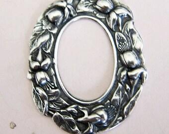 Silver Floral Frame 2954
