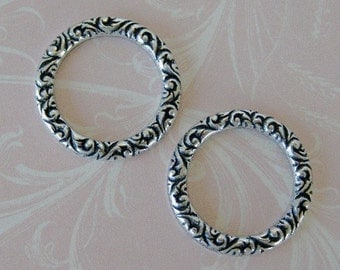 2 Silver Ring Findings 523