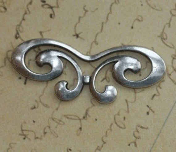 Silver Butterfly Embellishment 1321