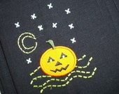 Halloween Button Down Towel