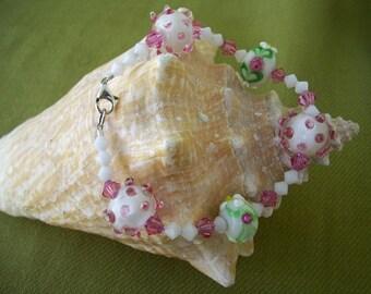 Bumpy Lampwork Bracelet