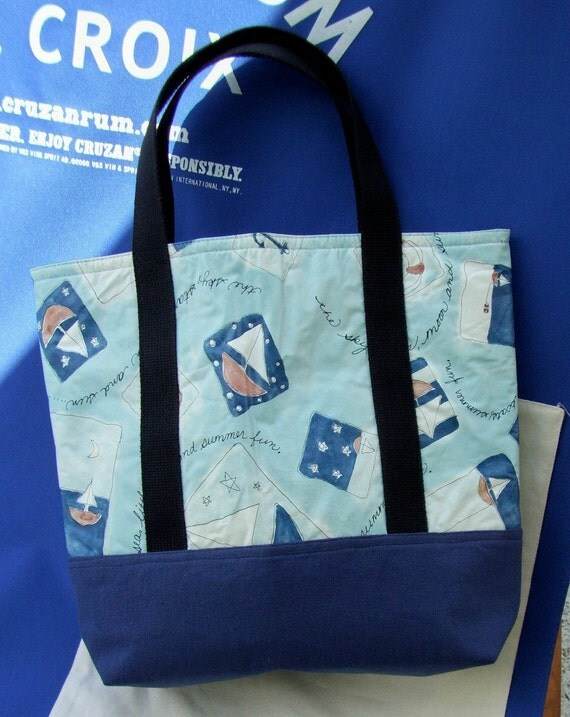 Recycle - Upcycle Tote Bag - OOAK