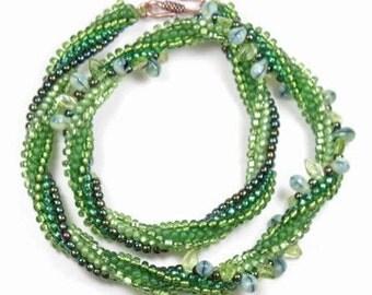 Leafy Green Swirl
