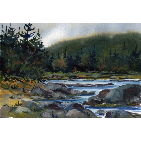 Original Watercolor 33 - by Jean Hutter