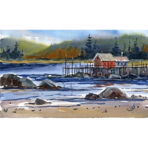 Original Watercolor 71 - by Jean Hutter