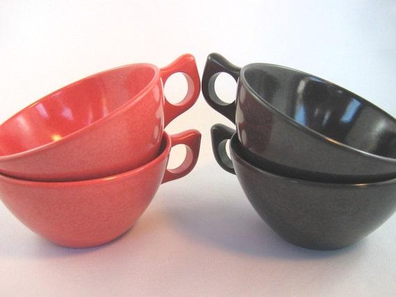 Vintage Cups Plastic Melmac