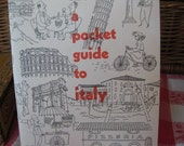 Vintage Pocket guide to Italy