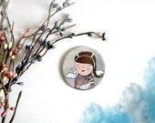 "Anita - mirror 2.3"" (59 mm)"