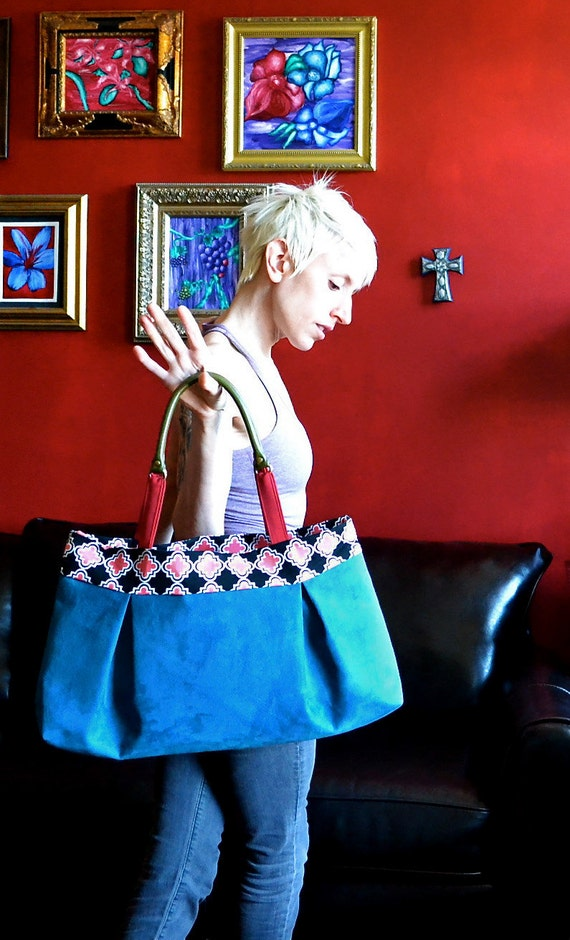 The Jackie Bag in Blue