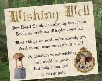 Wedding Favors Storybook Fairytale Theme qty 50