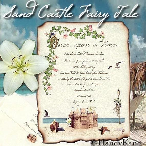 qty 75 Sand Castle Fairy Tale Tropical Beach Theme Storybook