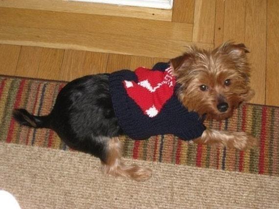 Boston Red Sox Dog Sweater