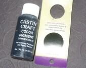 Black Opaque 29ml Pigment Dye Colorant Resin Epoxy Castin' Cast