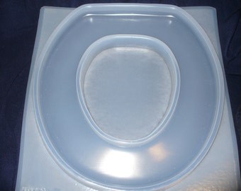 Resin Mold Toilet Seat & Lid Set Embed Fun Items
