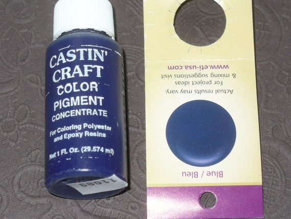 Blue Opaque 29ml Dye Colorant Resin Epoxy Easy Cast
