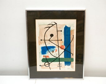 Limited Edition Joan Miro Lithograph