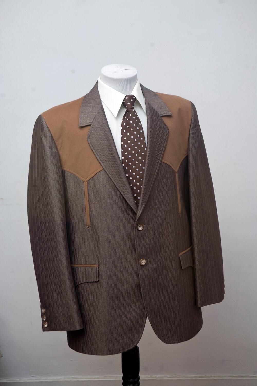 Size 46 Vintage Western Sport Coat