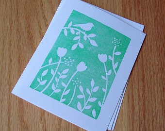 How Does your Garden Grow - Green - Notecard Set