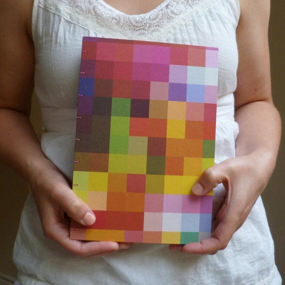 Kaleidoscope Hard Cover Handbound Sketchbook