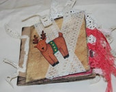 Christmas celebration  Paperbag Scrapbook album