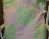 Fleece Throw in a Flannel Pillow