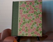 Medium Blank Book 7x8 Spring Maple Leaves