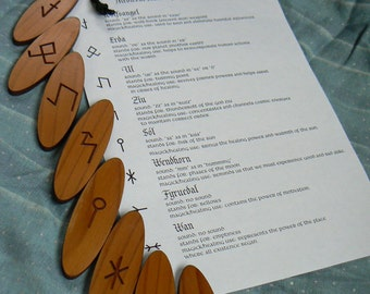 Medieval Runes of Healing and Magic