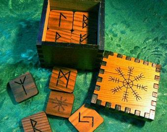 Aegishjalmer Viking Rune Cube