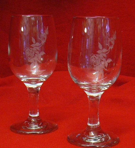 Days of Wine and Roses goblets