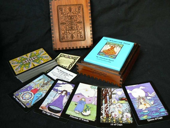 Whispering Tarot Deck Storage Box for the whole box