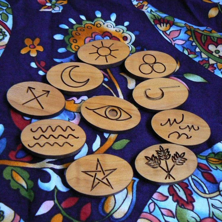 Gypsy Runes By Alaskalasermaid On Etsy