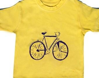 Bicycle T-Shirt / Childrens Clothing /  Boys / Girls  Bike Top
