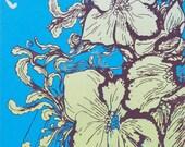 Magnolia Electric Co Handprinted Silkscreen Poster