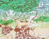 Finn Riggins Handprinted Silkscreen Poster