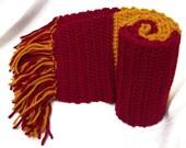 Crochet Harry Potter Scarf-Gryffindor