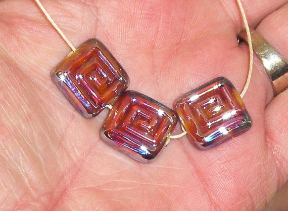 CLIO MAZE BEADS. lampwork beads