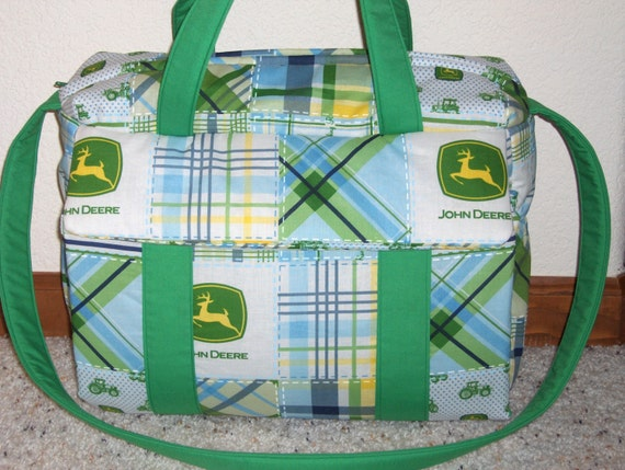 John Deere Diaper Bag w/change pad by EMIJANE