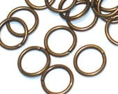 100 pcs of antiqued brass jumpring 8mm