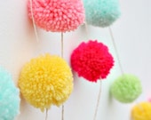 The Original Pom Pom Garland - Spring Edition