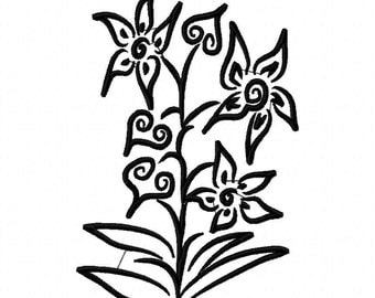 Beautiful  Machine Embroidery Design  by LetZRocK (2085)
