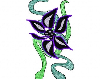 Beautiful  Machine Embroidery Design  by LetZRocK (2078)