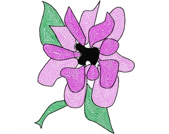 Beautiful  Machine Embroidery Design  by LetZRocK (2063)
