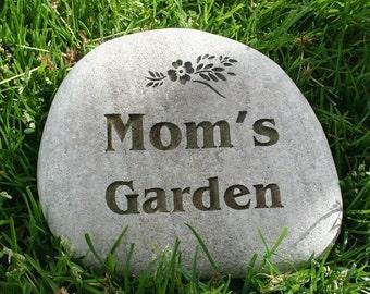 Custom Engraved Garden Stone by sjEngraving
