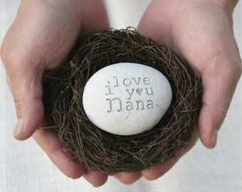 Love Message Nest (TM) - Custom message nest by sjEngraving