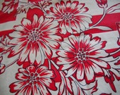 Vintage Linen Kitchen Tablecloths - Set of Three - Cutters - Floral and Colors