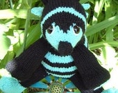 INSTANT DOWNLOAD, Digital File, Barney Bee Bumble Bee  a knitted pdf pattern