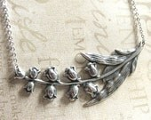 Lily of the Valley Necklace in Silver